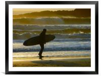 Home Time., Framed Mounted Print