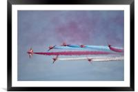 The Red Arrows 1, Framed Mounted Print