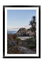St Catherines Island, Tenby. , Framed Mounted Print