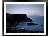 Giants Causeway Trail, Framed Mounted Print