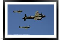 Battle of Britain Memorial Flight, Framed Mounted Print