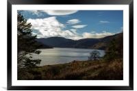 Sunny Winters Day at Haweswater, Framed Mounted Print