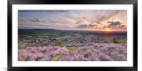 The  Colour Purple, Framed Mounted Print