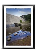 Derwent Dam, Framed Mounted Print