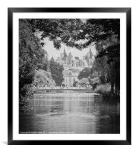 St James Park, London, Framed Mounted Print