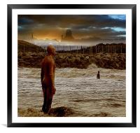 Another Place, Framed Mounted Print