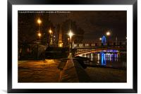 Down by the Banks, Framed Mounted Print