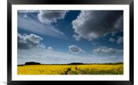 Cloudscape over South Yorkshire, Framed Mounted Print