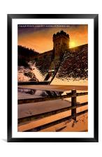 The Dark Tower, Framed Mounted Print