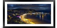 Scarborough Dawn, Framed Mounted Print