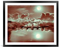 Out of the Darkness, Framed Mounted Print