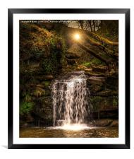 Evening at Thomason Foss , Framed Mounted Print
