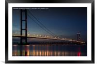Humber Reflections, Framed Mounted Print