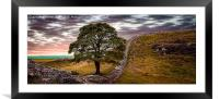 Sycamore Gap - Iconic Northumbria, Framed Mounted Print