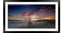Inversion in the Hope Valley, Framed Mounted Print