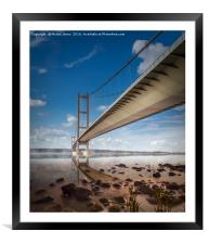 Humber Estuary Mists, Framed Mounted Print