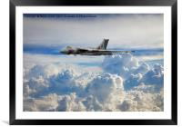 Vulcan XM607 - Rio Rendezvous, Framed Mounted Print