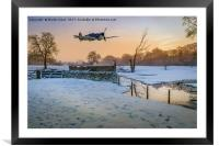 Spitfire Dawn, Framed Mounted Print