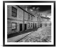 The Coal Merchants Offices, Victoria Quays , Framed Mounted Print