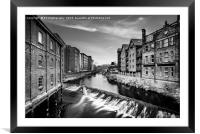 Take Me Down to the River - Lady's Bridge, Framed Mounted Print