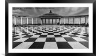 Scarborough Spa, Framed Mounted Print