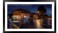 The Ritz Cinema, Thirsk, North Yorkshire , Framed Mounted Print