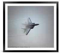USAF F-15E Strike Eagle, Framed Mounted Print