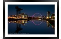 Clyde Reflections, Framed Mounted Print