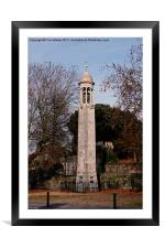 Mayflower Memorial Southampton England, Framed Mounted Print