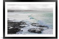 Gwithian Towans in Winter, Framed Mounted Print