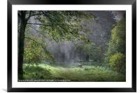 Misty Memories, Framed Mounted Print