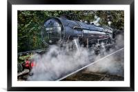 Austerity Class Engine, Framed Mounted Print
