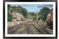 Rowley Station, Framed Mounted Print
