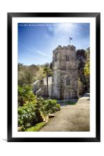 St. Just In Roseland, Cornwall, Framed Mounted Print