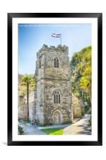 St, Just In Roseland, Cornwall 2, Framed Mounted Print