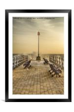 Sunrise over Swanage Jetty, Framed Mounted Print