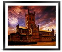 The Abbey, Framed Mounted Print