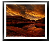 Bamford Edge, Framed Mounted Print