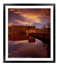 Howden Reflections, Framed Mounted Print