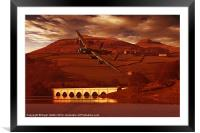 Into Ladybower, Framed Mounted Print