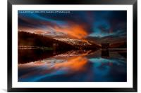 Howden Glow, Framed Mounted Print