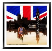 London Olympics 2012, Framed Mounted Print