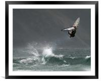 Take off., Framed Mounted Print