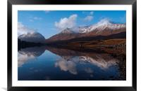 Becalmed - Torridon, Framed Mounted Print