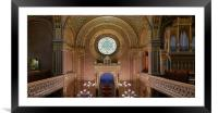 Spanish Synagogue, Framed Mounted Print