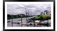 Slip Into The Clyde, Framed Mounted Print