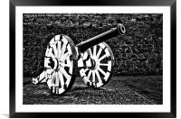 The Cannon, Framed Mounted Print