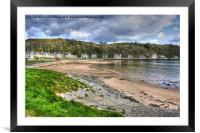 Millport beach, Framed Mounted Print
