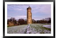 Eglinton Tower in Winter, Framed Mounted Print