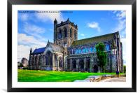Paisley Abbey, Framed Mounted Print